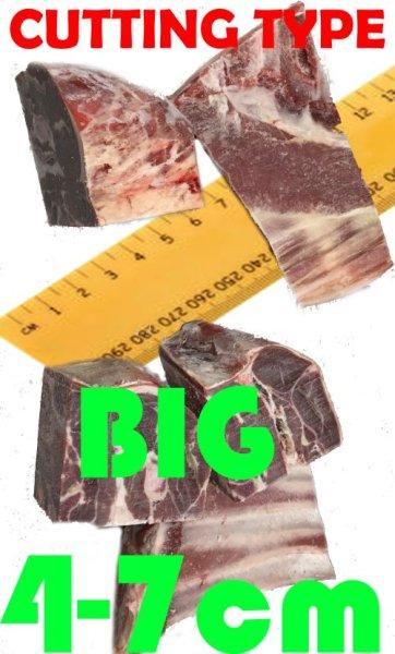 Photo1: MEAT CUT SERVICE BIG SIZE : 4cm-7cm (50yen/kg) / 肉カットサービス  (1)