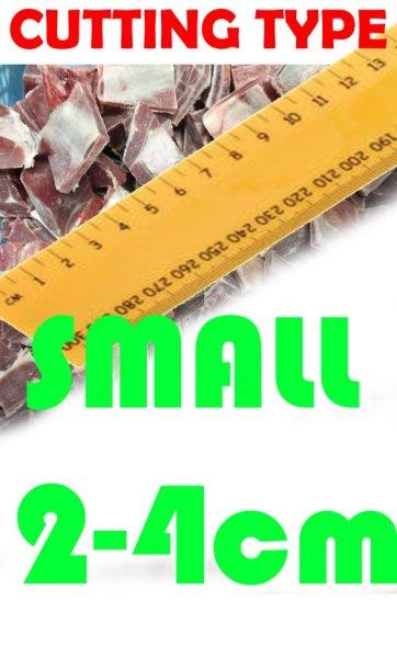 Photo1: MEAT CUT SERVICE SMALL CUT 2cm-4cm (70yen/kg) / 肉カットサービス (1)